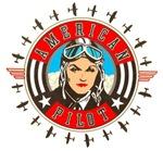 AMERICAN PILOT (WOMAN)