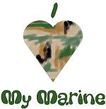 I Love (heart) My Marine
