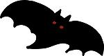 Gothic Black Bat