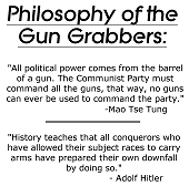 Philosophy of the Gun Grabbers