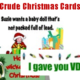 Crude & Funny Christmas Cards