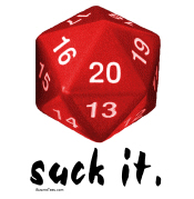 d20 Suck It Shirts