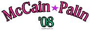 Pink McCain/Palin 08