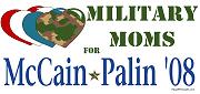 Military Moms for McCain Palin Shirt