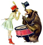 Drumming Bear