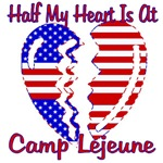 Half my heart is at Camp Lejeune