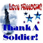 Love Freedom? Thank a Soldier