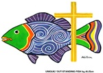 7 Great Fish with a Cross!