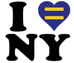 I love New York Gay Marriage