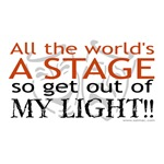 All the World's a Stage T-shirts & Gifts