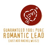 100% Pure Romantic Lead - Rachel Weisz Design