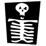 Spooky Skeleton Cartoon Image