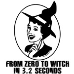Zero to Witch 50's Style - B&W