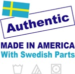 Made in America with Swedish Parts - New Flag Desi