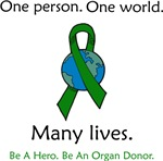 One Person. Many Lives.
