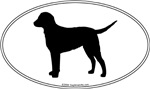 Curly-Coated Retriever Silhouette