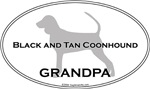 Black and Tan Coonhound GRANDPA
