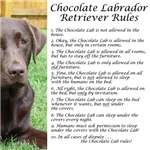 Chocolate Lab Rules