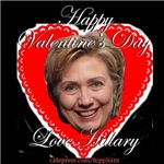 Happy Valentine's Day,Love Hillary This makes perf