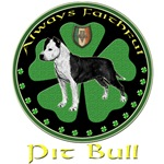 Celtic pride Pit Bull Design