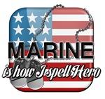 Marine is how I spell Hero