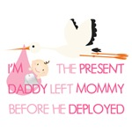 I'm the present Daddy left before he Deployed (pin