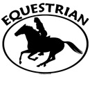 Equestrian Rider. Horse sports saying.