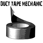 Duct Tape Mechanic. Funny gifts.