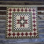 Hitching Post Quilt Square