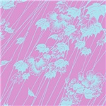 Japanese Print (Leaf Shower-Baby Pink)