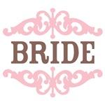 Bride (Mocha and Baby Pink)
