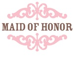 Maid of Honor (Mocha and Baby Pink)