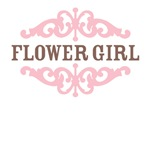 Flower Girl (Mocha and Baby Pink)