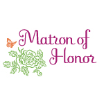 Butterfly Matron of Honor