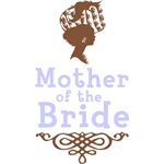 Cameo Mother of the Bride (Periwinkle & Brown)