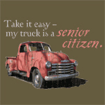 My truck is a senior citizen.