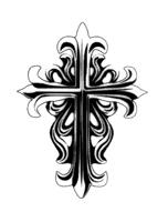 Ornate Gothic Cross