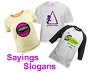 Sayings on T-Shirts