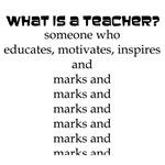 Marking Teacher