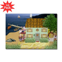 Country Village Series© Magnets (Sets of 10)