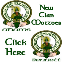 New! Irish Clan Mottoes