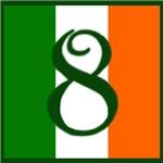 Flag of Éire Exterior Address Tiles