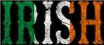 IRISH FLAG TEXT