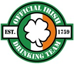 Official Irish Drinking Team T-Shirts