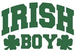 Irish Boy Shamrock T-Shirts