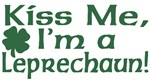 Kiss Me I'm a Leprechaun T-Shirts