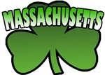 Massachusetts Shamrock T-Shirts