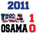 USA 1 Osama 0 T-Shirts
