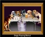 Dogs Playing Beirut (Dark)