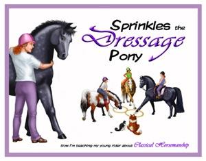 Sprinkles the Dressage Pony
